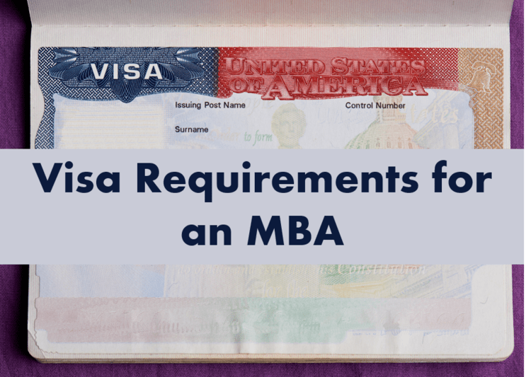 MBA in USA Visa Requirements