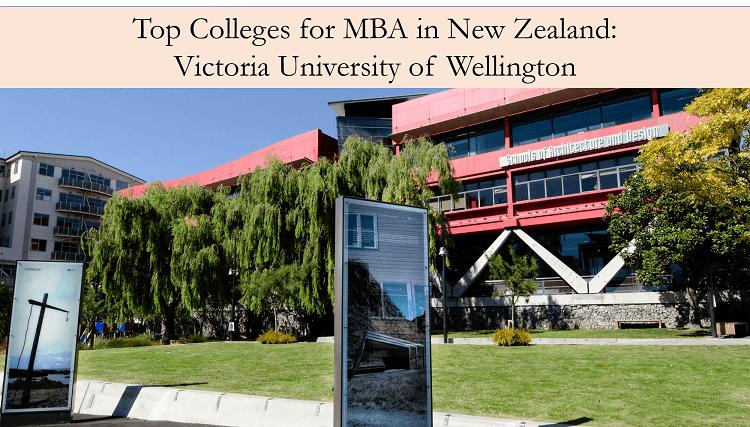MBA in New Zealand in Victoria University of Wellington
