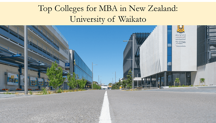 University of Waikato top colleges for mba