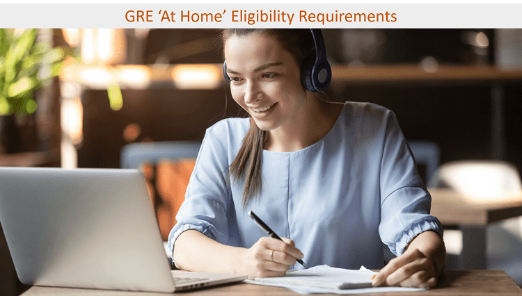 Equipment requirement for GRE eligibility