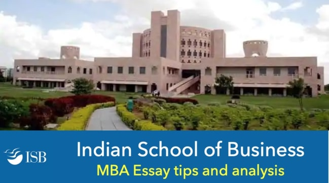 isb essay tips and analysis