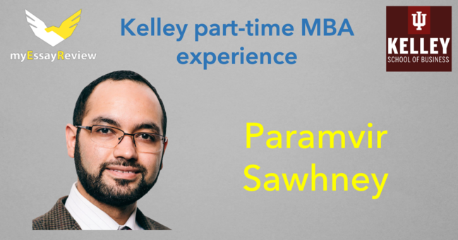 Kelley part time MBA experience