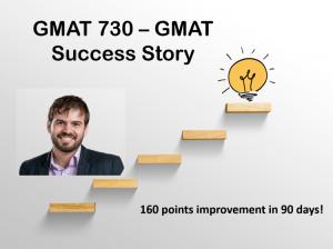 GMAT 730 Success Story