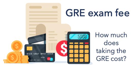 GRE exam fee