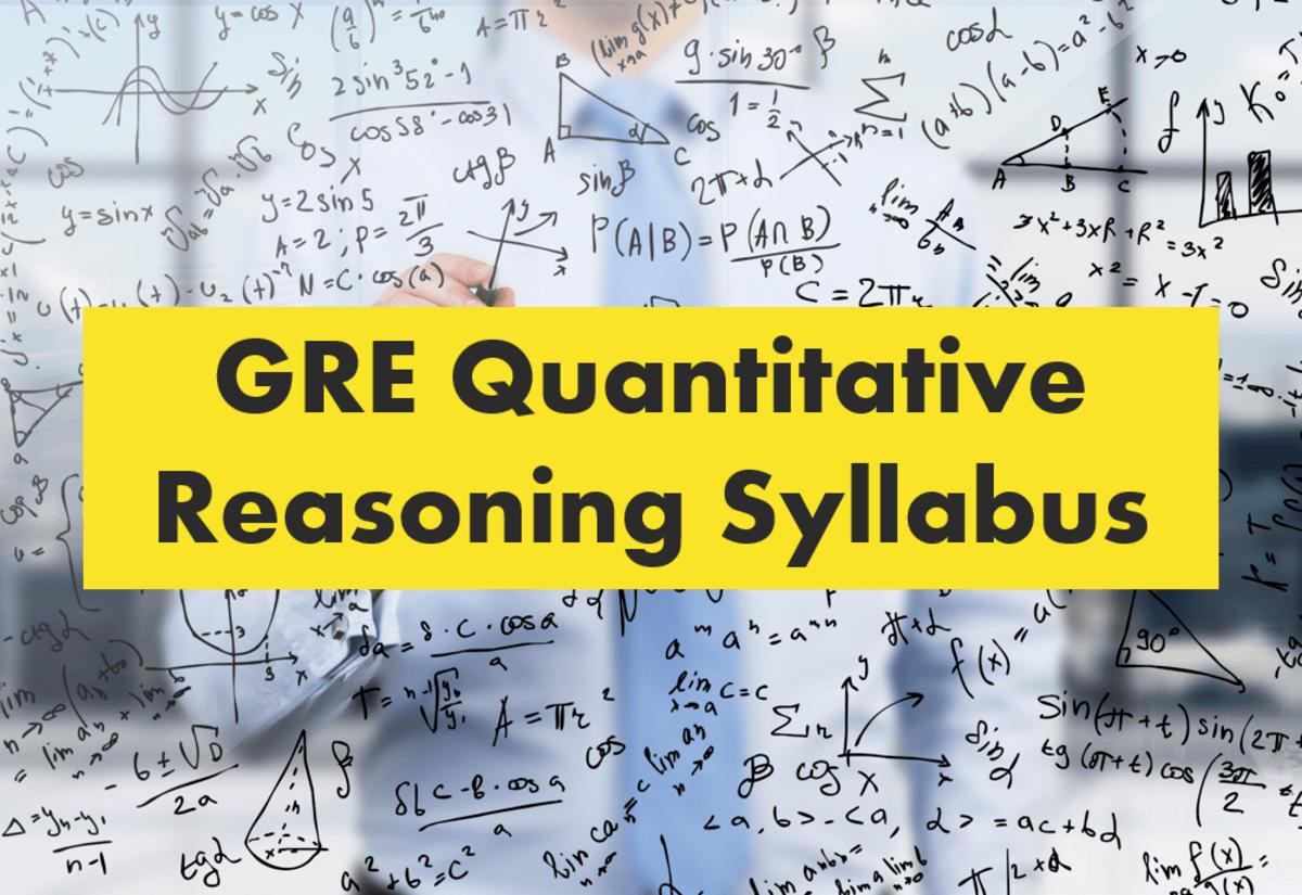 GRE Syllabus Quantitative Reasoning Syllabus