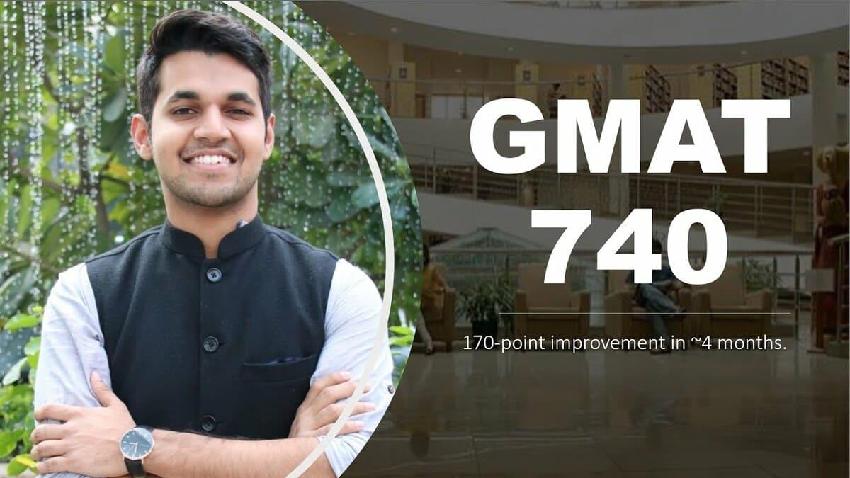 GMAT 740 in 4 months