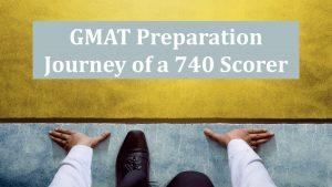 GMAT 740 Preparation Journey