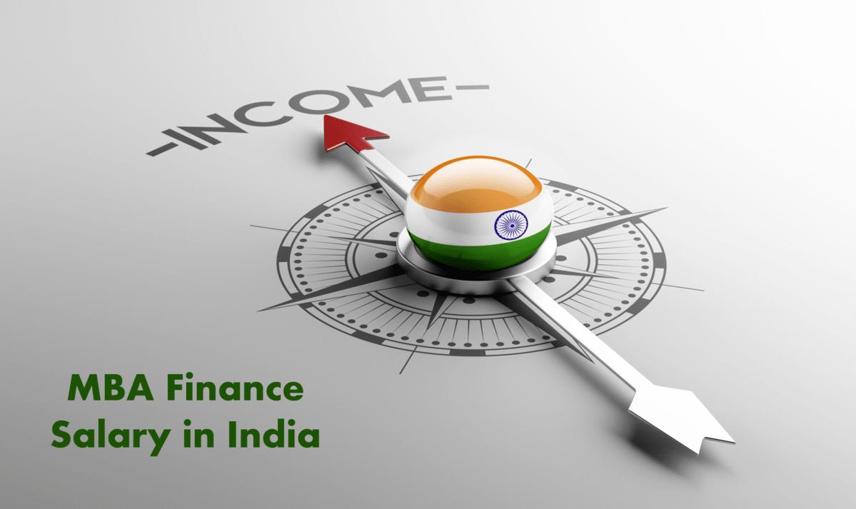 MBA Finance Salary in India