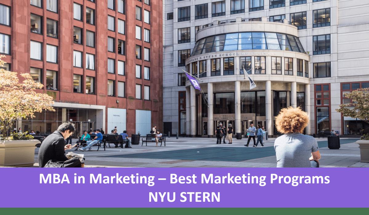 NYU Stern Marketing concentration