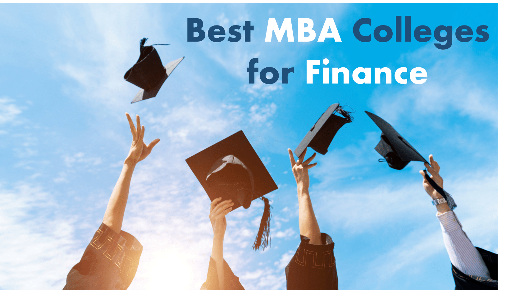 Best MBA colleges for Finance