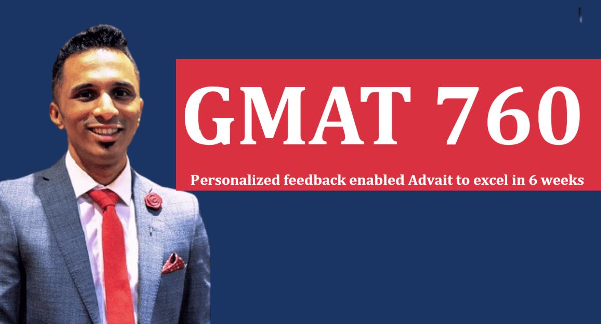 GMAT 760 in 6 weeks