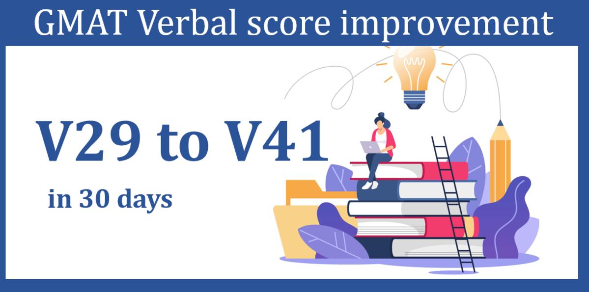 GMAT Verbal score improvement - GMAT 750