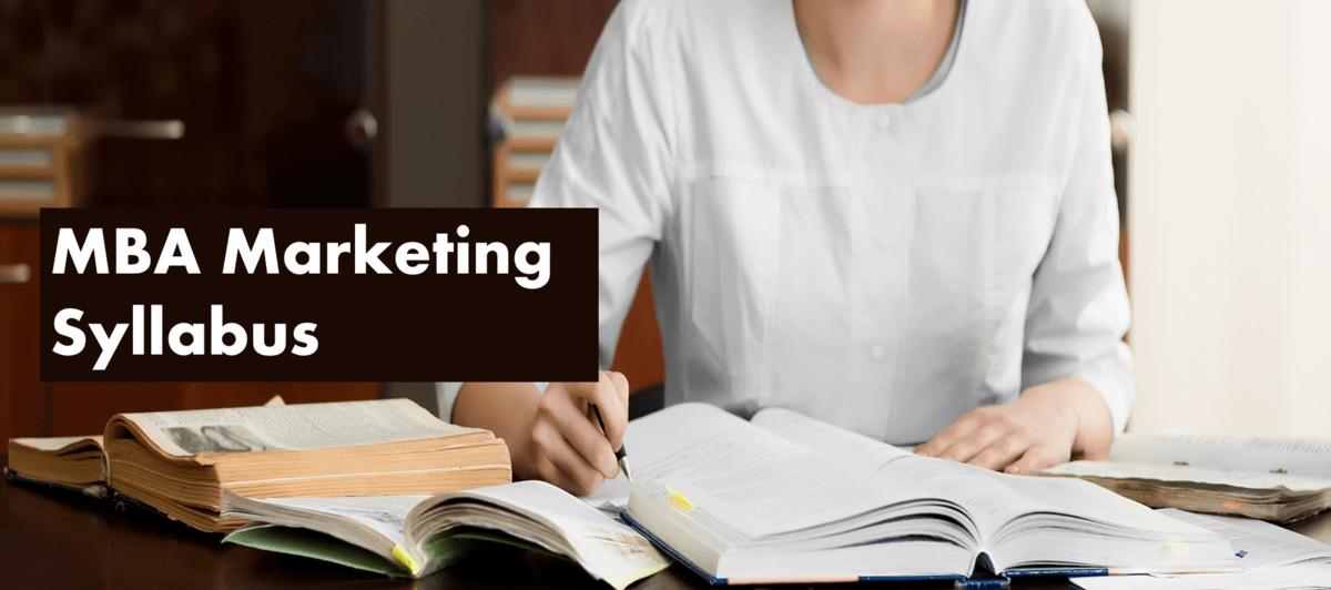 MBA Marketing Syllabus