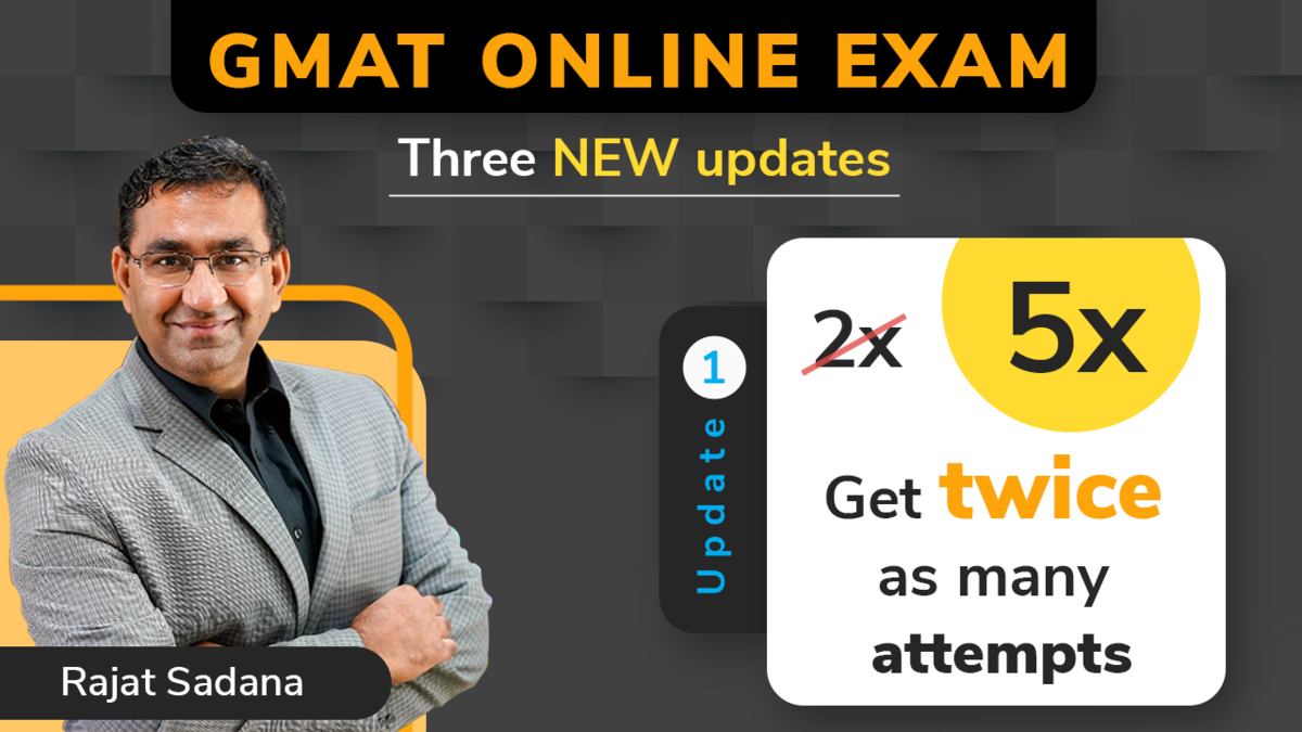 GMAT Online Exam Latest update