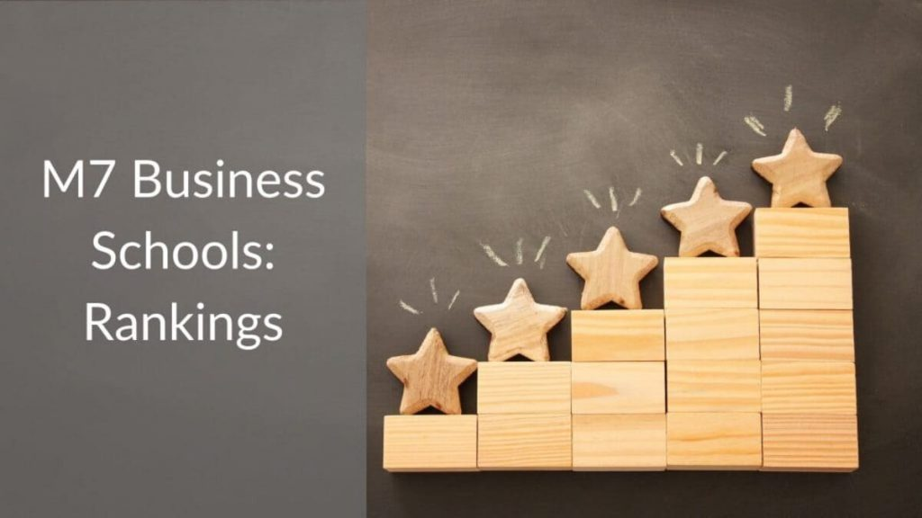 M7 Business Schools - Rankings by specialisation