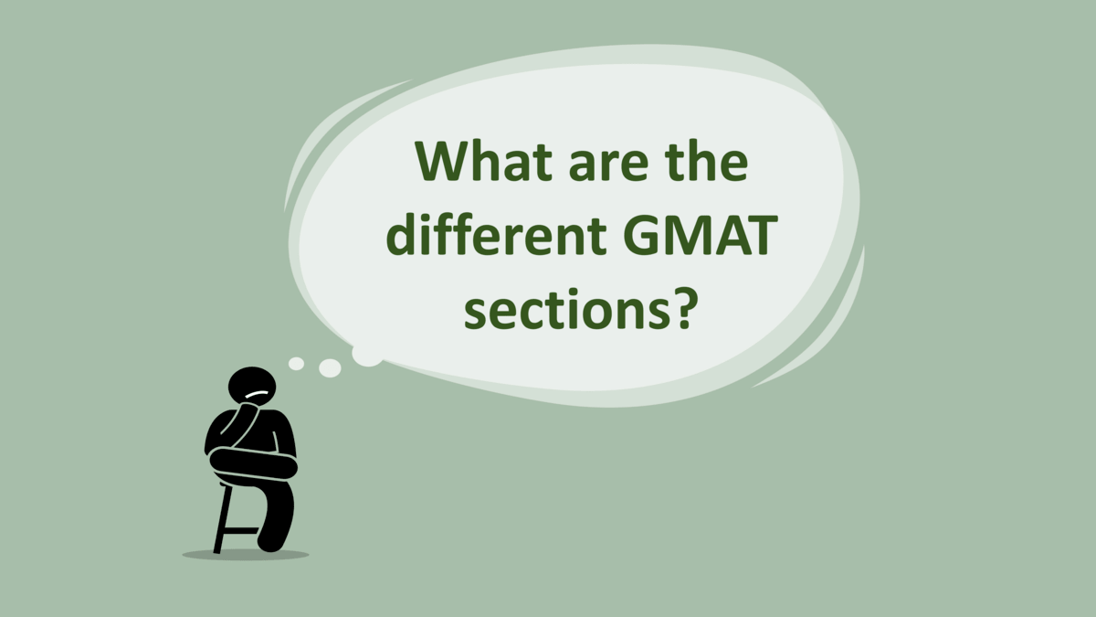 GMAT Exam different sections
