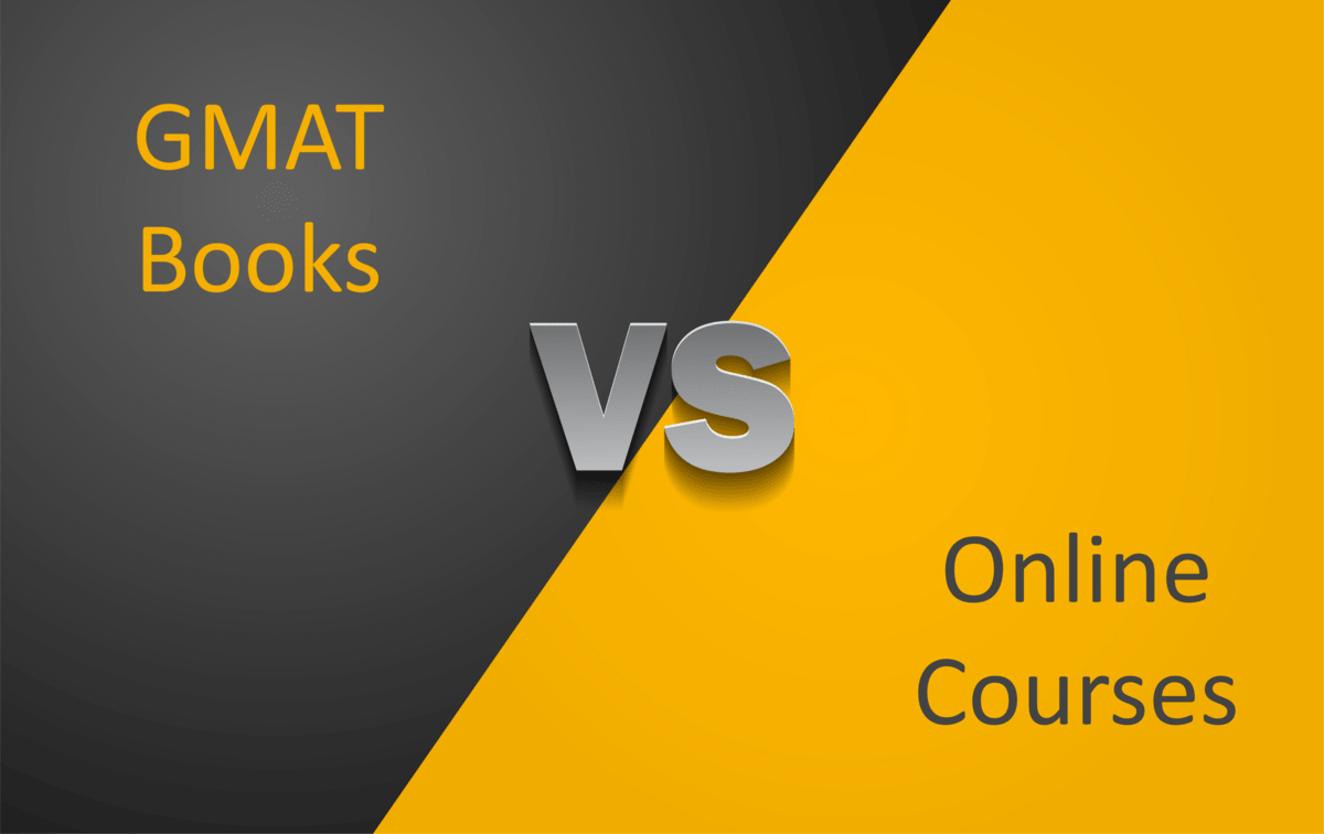 GMAT Books vs. online resources