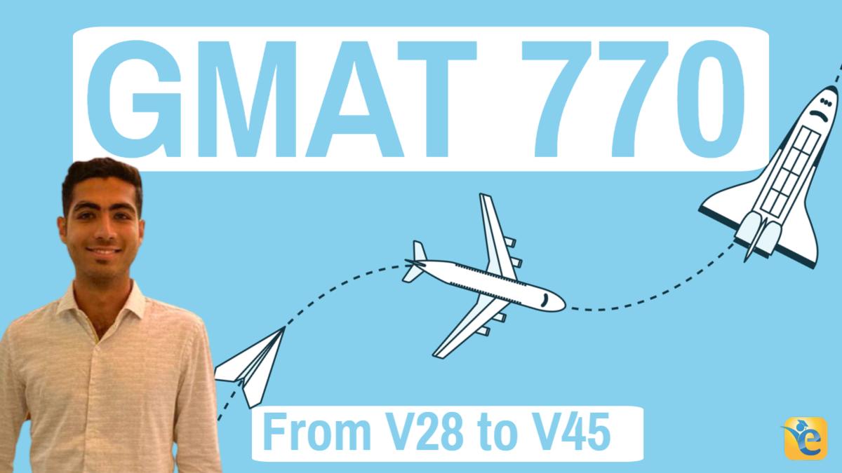 eGMAT review - V45 - GMAT 770
