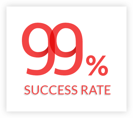 More than 99% success rate with e-GMAT Courses
