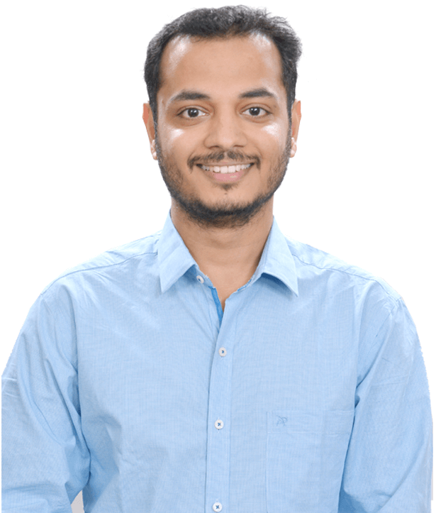 e-GMAT's Top Instructor Ambarish Sasikumar Front Facing Photograph