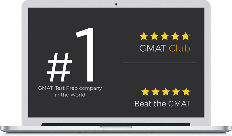e-GMAT rated highest number - more than 2000 reviews